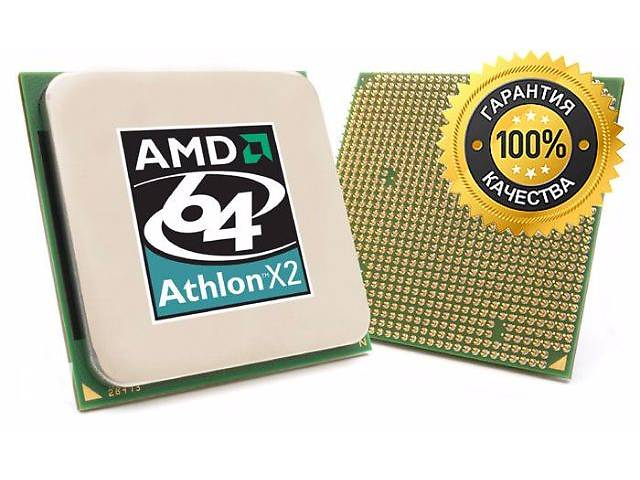 купить бу Процессоры AMD Athlon 64 X2 sAM2 4400 5200 5600 6000+ в Киеве