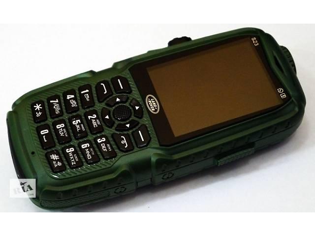 бу Противоударный телефон Land Rover S23 - 3 SIM,+USB лампа. в Одессе