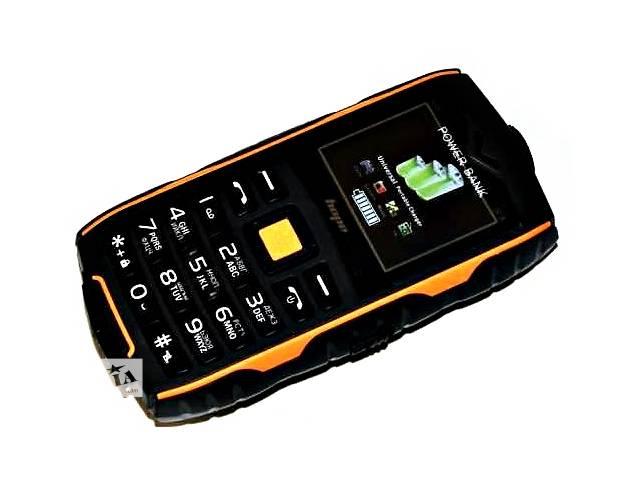 купить бу Противоударный телефон Land Rover S55 2 SIM, бат. 20 000 mAh+USB-лампа!2 SD карты в Одессе