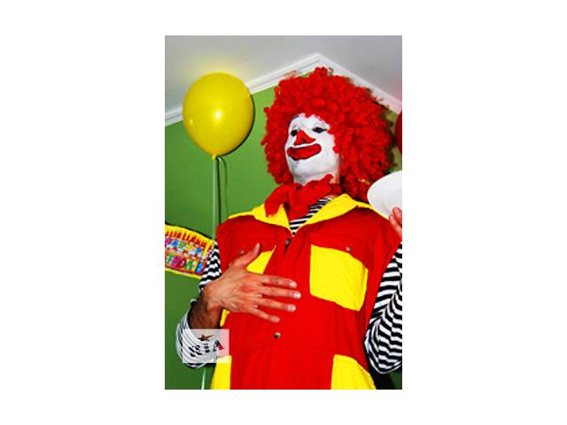 купить бу Провести день рождения в детском саду киев, с клоунами аквагрим. в Киеве