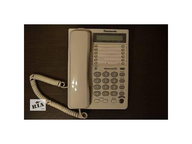 продам Проводной телефон Panasonic KX-TS2362RUW White бу в Киеве