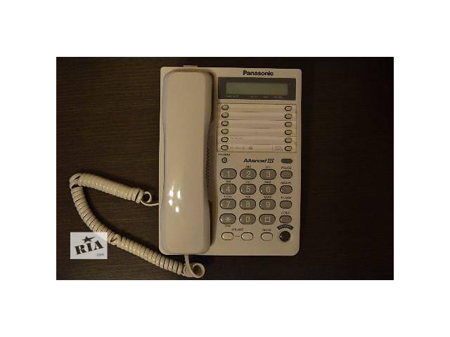 продам Проводной телефон Panasonic KX-TS2362RUW White. бу в Киеве