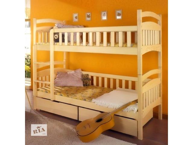Производим двухьярусние кроватки 1 сорт Карина люкс- объявление о продаже  в Одессе