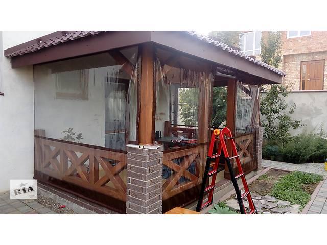 купить бу Прозрачные ролеты для беседок и открытых террас в Черновцах