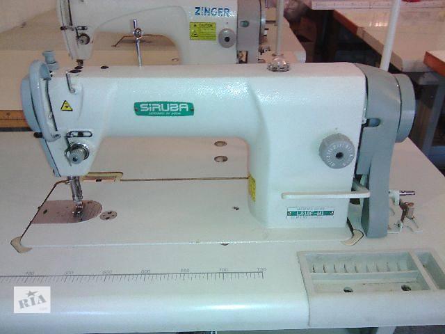 продам Прямострочные швейные машины Siruba L818,Typical 6150,Jack JK A4,Mitsuyin 5550. бу в Хмельницком