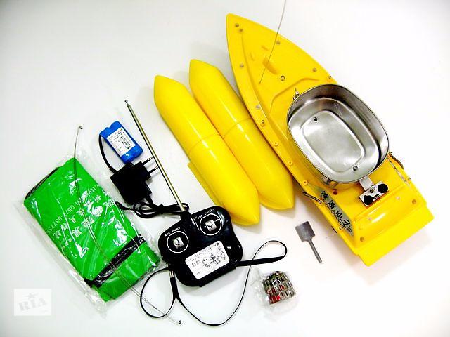 продам Прикормочный радиоуправляемый кораблик Tornado 5, Fishing Boat Mini 3 бу в Харькове