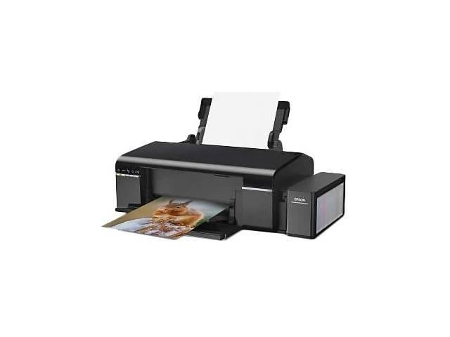 купить бу Принтер Epson L805 с оригинальной СНПЧ и чернилами INKSYSTEM в Хмельницком