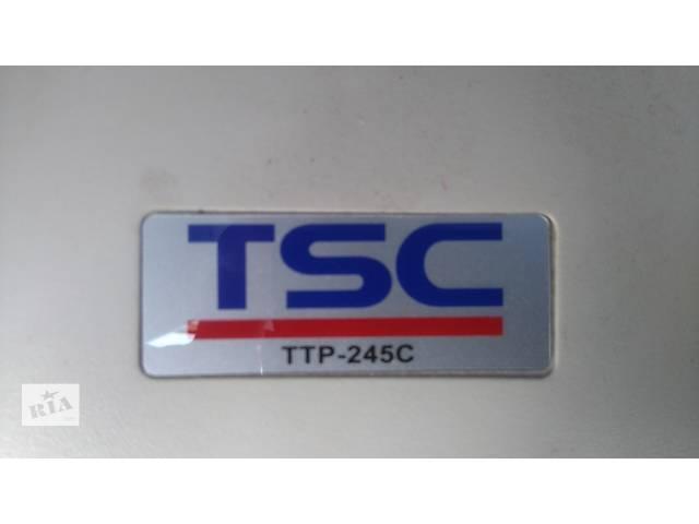 купить бу Принтер этикеток и штрих-кодов TSC TTP-245C_7500грн в Киеве