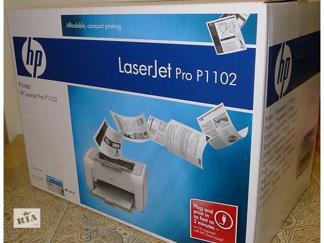 Принтер лазерный HP LaserJet Pro P1102- объявление о продаже  в Киеве