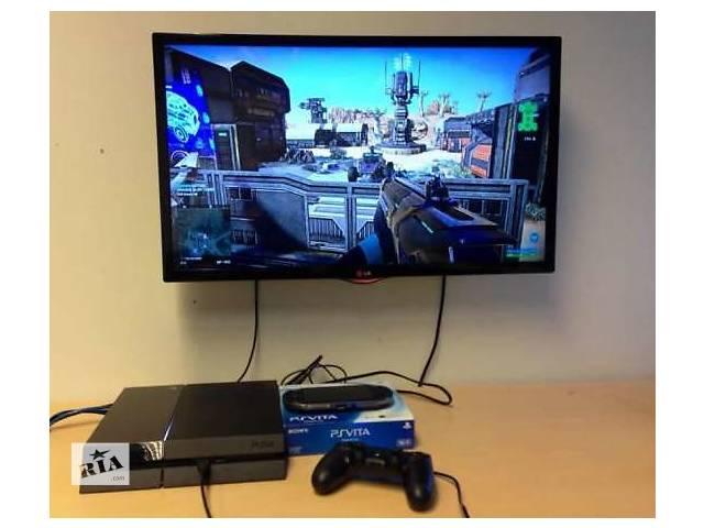 купить бу Приставка консоль Sony Playstation 4 PS4 500Gb + Игры в Днепре (Днепропетровске)