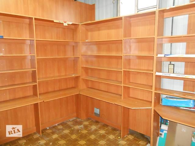 бу Пристенные торговые прилавки из ДСП в Кропивницком (Кировограде)