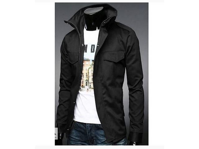 бу Приталенная куртка с карманами на кнопках в Черкассах