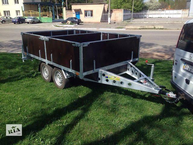 Прицеп для перевозки винограда 3м х 2м. Два тормозных торсиона!- объявление о продаже  в Буче