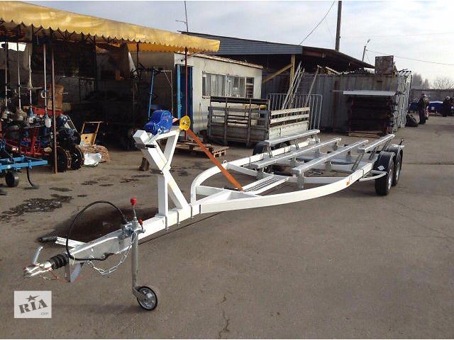 купить бу Прицеп для транспортировки яхты 7м, 2,7 тонн, с тормозом! в Буче
