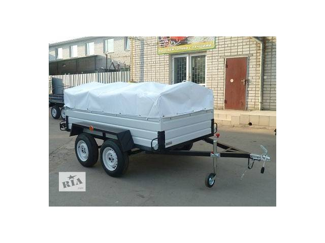 купить бу Прицеп легковой «Лев-250» 750 кг. в Кременчуге