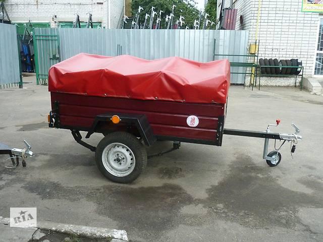 купить бу Прицеп Лев-210 двухосный, длина 2,1м в Кременчуге