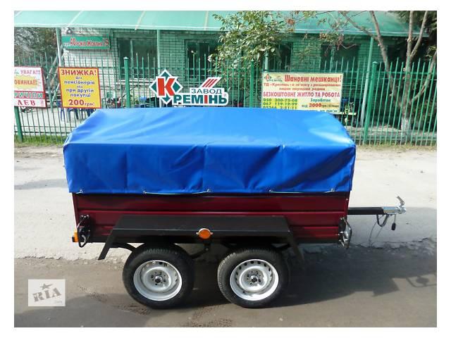 купить бу Прицеп Лев-210 двухосный, длина 2,1м в Полтавской области