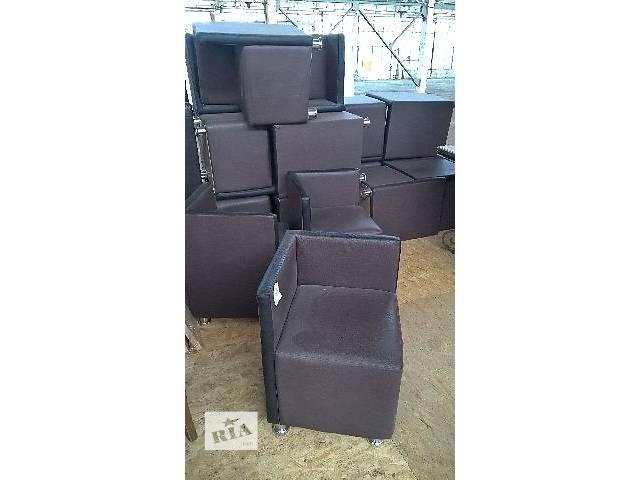 бу Пуф кресло кожзам коричневый б/у для ресторана кафе кофейни бара офиса дома дачи. в Киеве