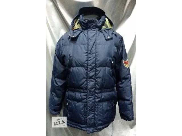 купить бу Пуховая куртка GEOX, с капюшоном, цвет - темно синий. в Киеве