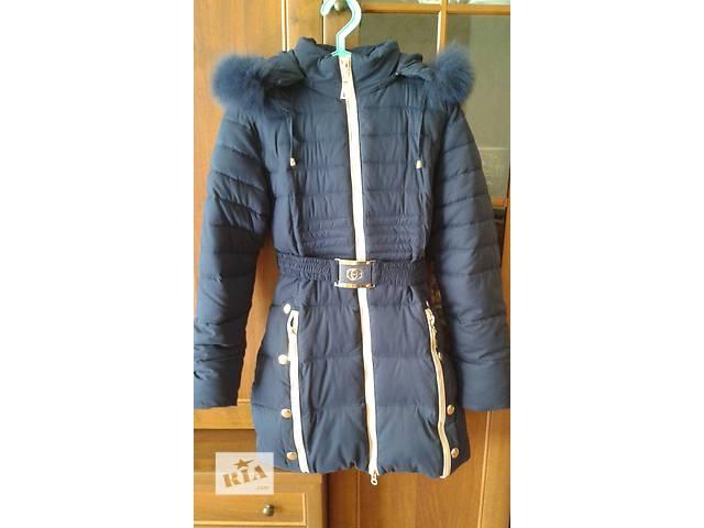 продам  Пуховик пальто для девочки 10-12 лет  бу в Одессе
