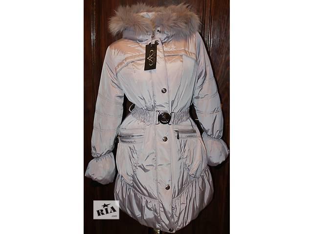 бу Пуховик пальто куртка (44 и 48 размеры, новое, холлофайбер, мех песец) в Бродах (Львовской обл.)