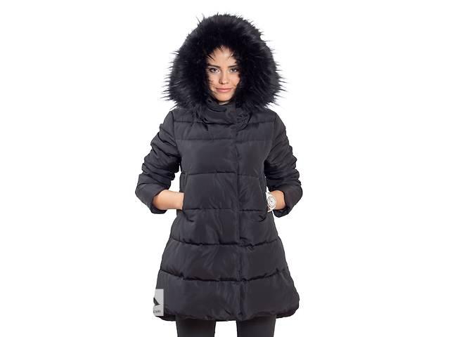 продам Пуховик женский длинный Black бу в Киеве