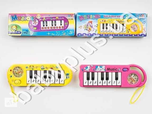 купить бу Пианино, 2 режима (музыка,ноты), 2 вида, на бат-ке, в кор-ке в Днепре (Днепропетровск)