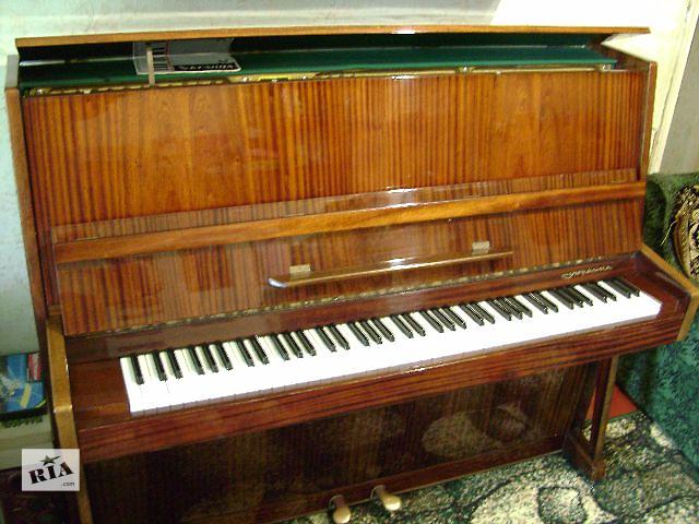 Пианино «Украина» в хорошем состоянии- объявление о продаже  в Селидово
