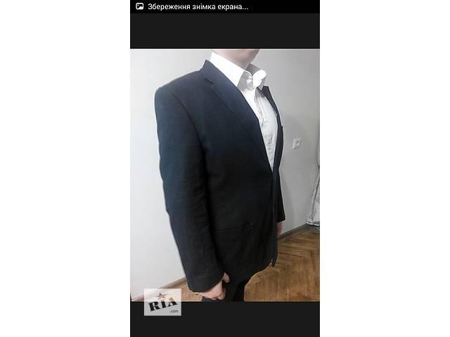 купить бу Пиджак, 52розмір, пиджак, стильный, классический, мужской, дешевый в Ивано-Франковске