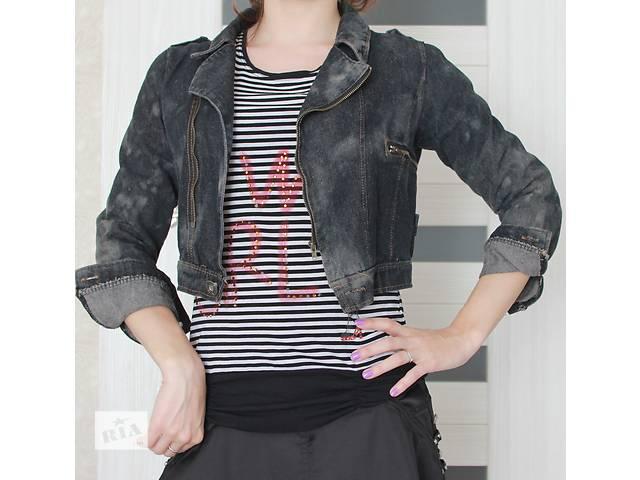 Пиджак (куртка) джинсовая - объявление о продаже  в Киеве