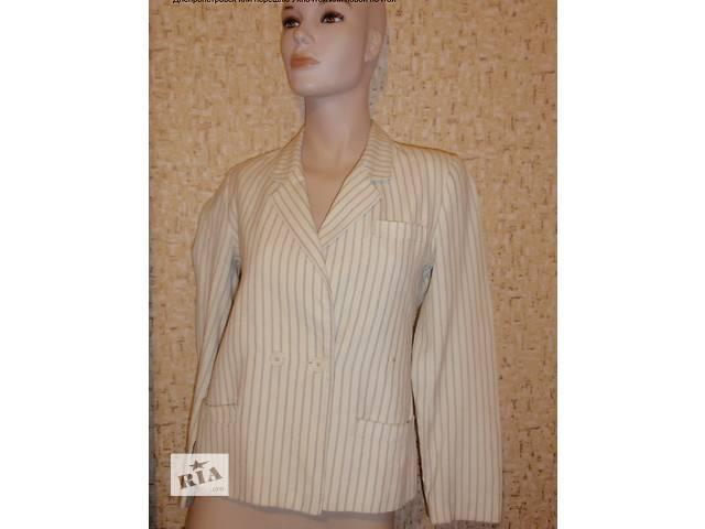 Пиджак полосатый. Размер 42-44- объявление о продаже  в Днепре (Днепропетровске)