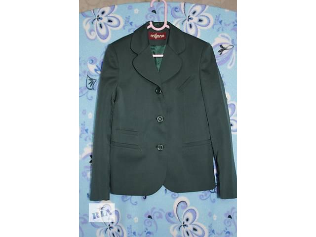купить бу Пиджак школьный для девочки р.134 в Киеве