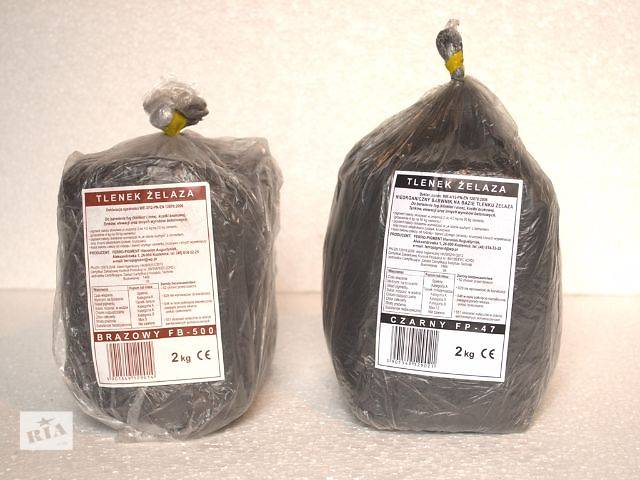бу Пигмент для бетона. Польша 2 кг. (Коричневый и черный) в Луцке