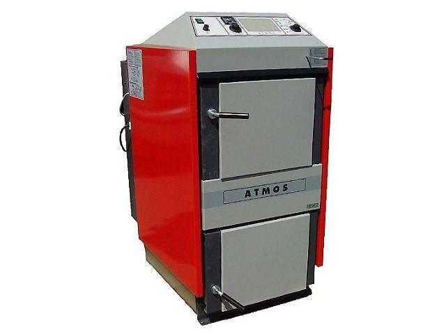 купить бу Пиролизный котел с горелкой для пеллет ATMOS DC 18 S в Черкассах