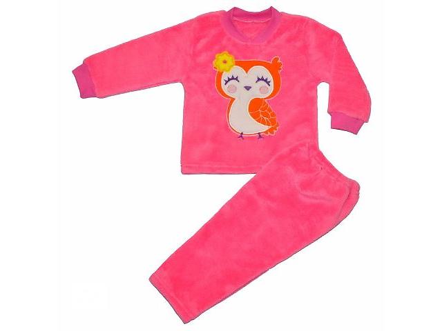 Пижама теплая велсофт девочке, р.28-30- объявление о продаже  в Полтаве