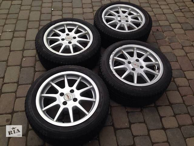 купить бу R15 4x100 AEZ Made in Germany 195/50 в Львове