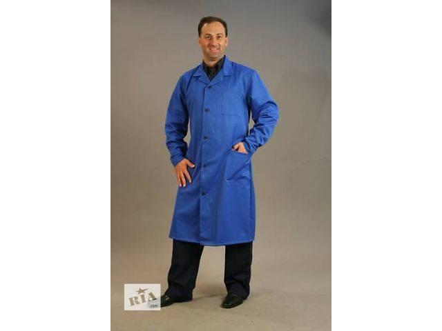 купить бу халат рабочий с бязи,халат мужской и женский,рабочая одежда в Чернигове
