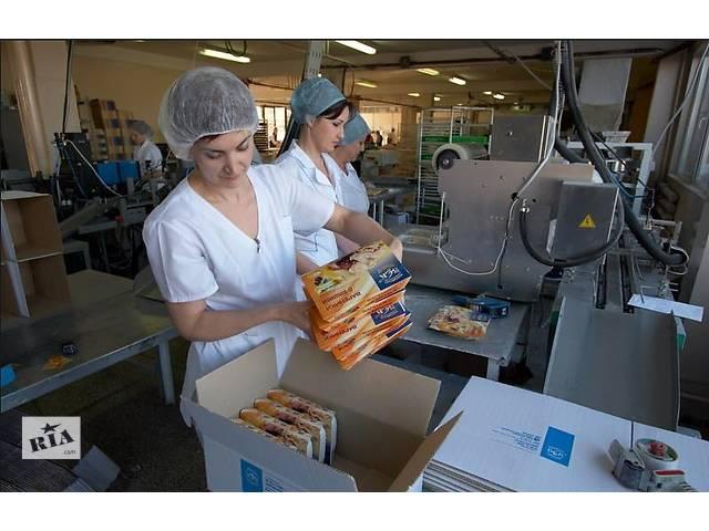 бу Работа в Польше на упаковке сладостей для мужчин и женщин   в Украине