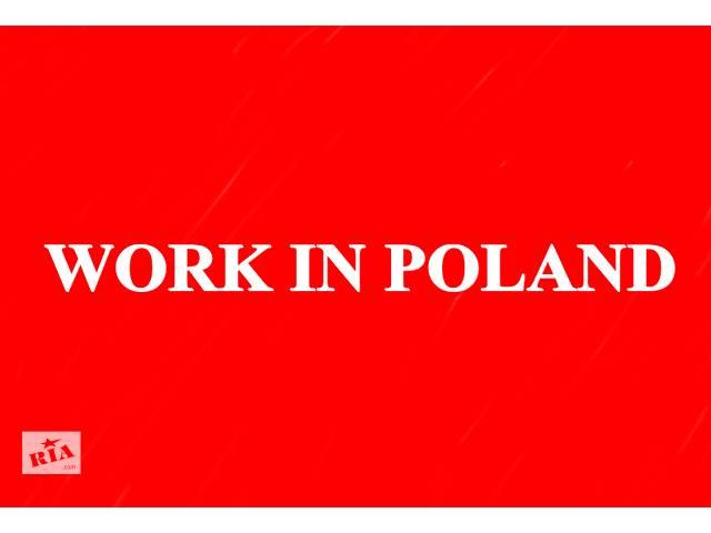 бу Работа в Польше. Рабочая виза в Польшу  в Украине