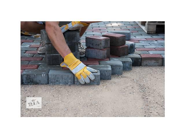 бу Работа в Польше укладка тротуарной плитки  в Украине