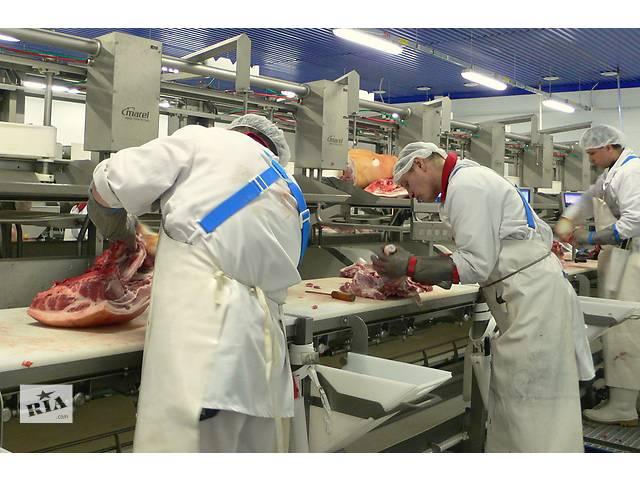 купить бу  Работник мясокомбината в Польшу   в Украине