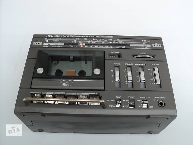 Radio TEC 4028 4 Band Stereo-Radio-Cassetten-Recorder- объявление о продаже  в Косове