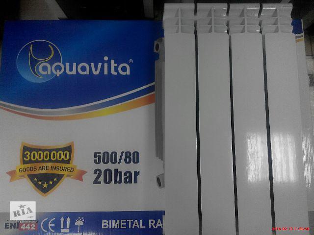 """бу Радиатор биметаллический """"AQUAVITA"""" 500/80, 20 БАР в Сумах"""