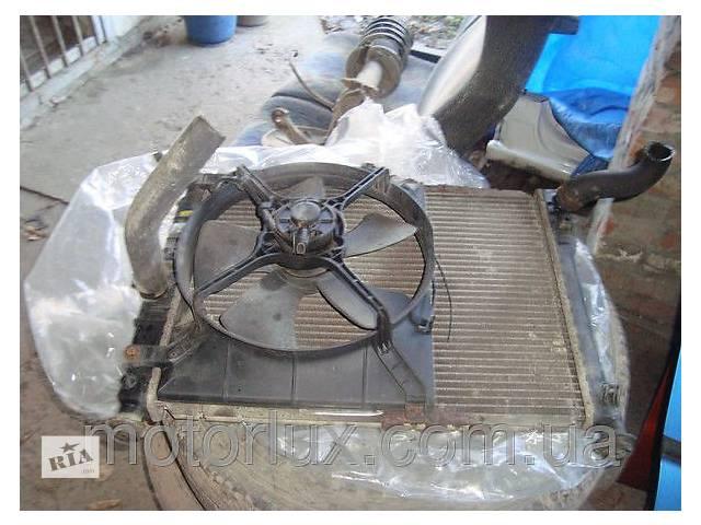 Радиатор охлаждения Daewoo Nubira с вентилятором в сборе- объявление о продаже  в Харькове