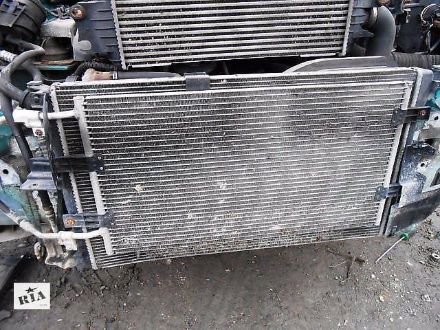 купить бу Радиатор охлаждения основной, радіатор основний 1.9 Renault Trafic Рено Трафик Opel Vivaro Опель Виваро Nissan Primastar в Ровно