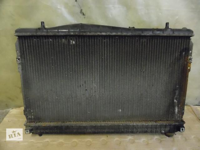 радиатор основной chevrolet lacetti