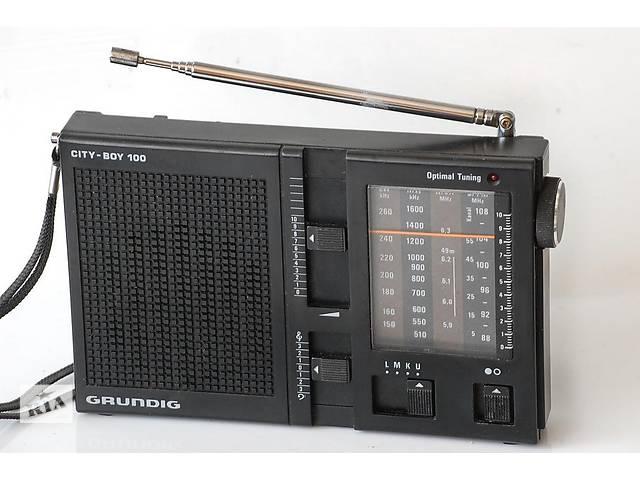 Радиоприёмник GRUNDIG CITY-BOY 100- объявление о продаже  в Киеве