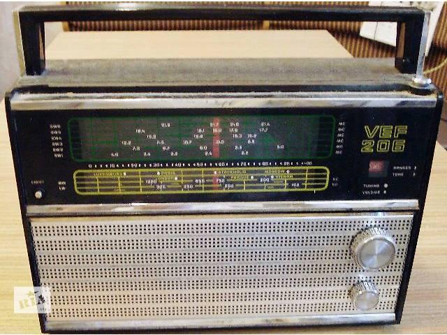 продам радиоприемник VEF 206 бу в Киеве