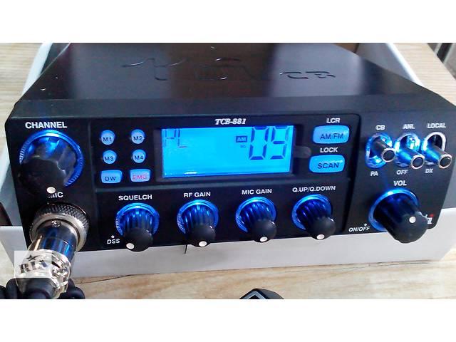 купить бу Радиостанция CB TTI TCB-881 12/24V ASQ AM/FM в Львове