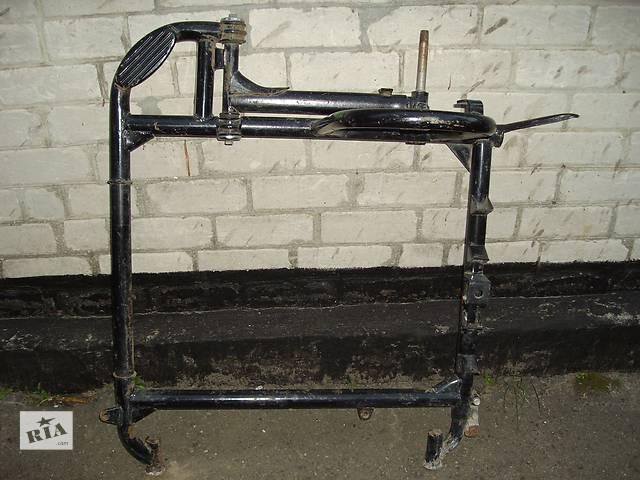 купить бу рама бокового прицепа(коляски) мотоцикла днепр. в Смеле